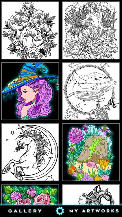 Coloring book for fun screenshot-3