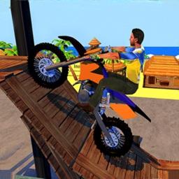Racing Bike Stunts Ramp Ride