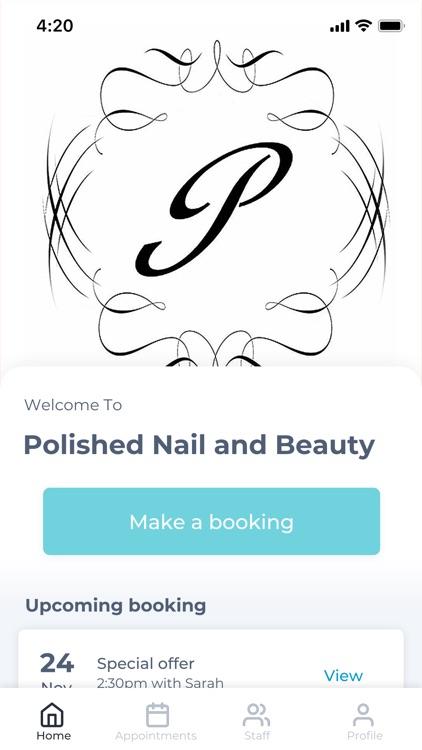 Polished Nail and Beauty