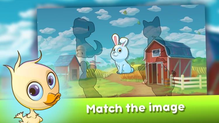 Baby Farm Puzzles screenshot-4