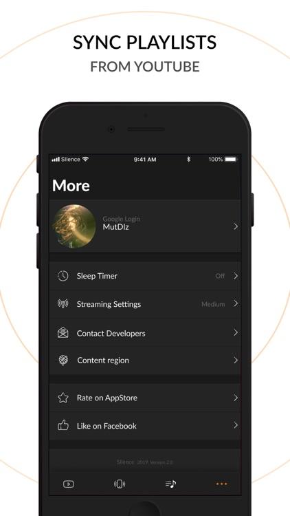 Music Player - Silence Music screenshot-8