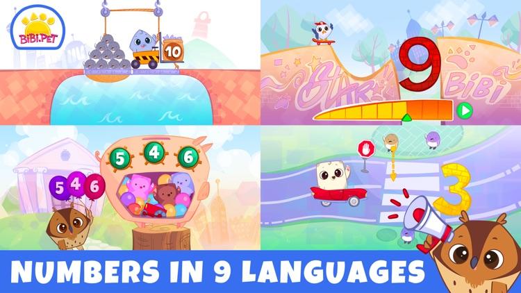 Bibi Numbers 123 - Kids Games screenshot-4