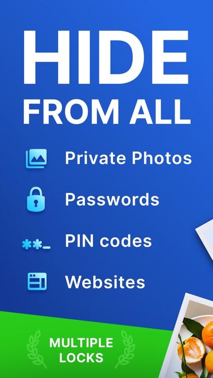 Private lock: photo vault