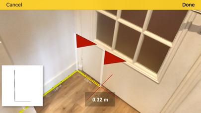 CamToPlan - AR tape measure Screenshot
