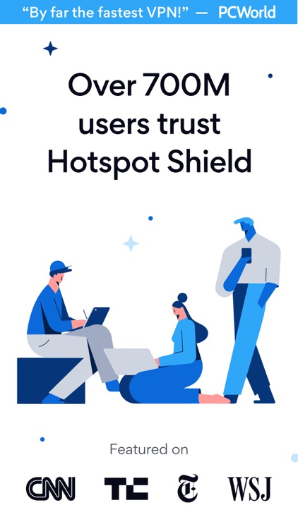 HotspotShield VPN & Wifi Proxy screenshot-0
