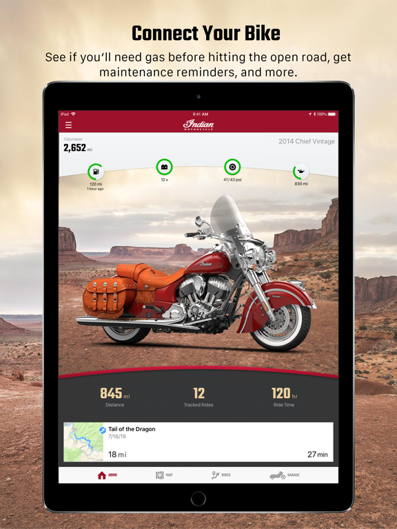 Indian Ride Command screenshot