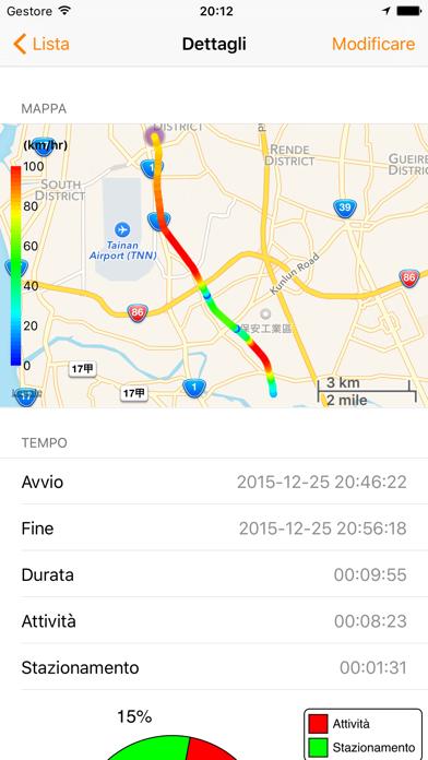 Screenshot of Speedometer Pro +3
