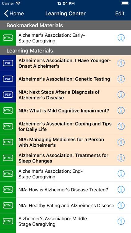 Alzheimer's Manager screenshot-4