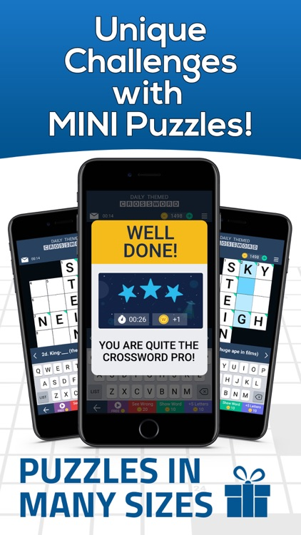 Daily Themed Crossword Puzzle screenshot-4