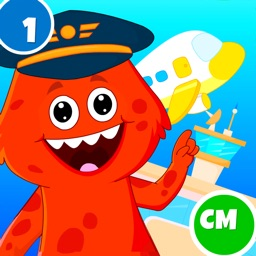 My Monster Town: Airport Game