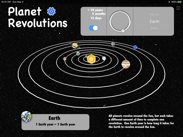 ‎Solar System (Lite) Screenshot