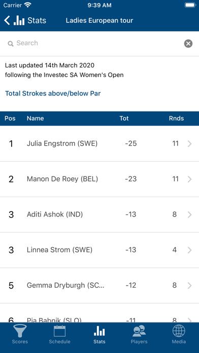 Ladies European Tour screenshot three
