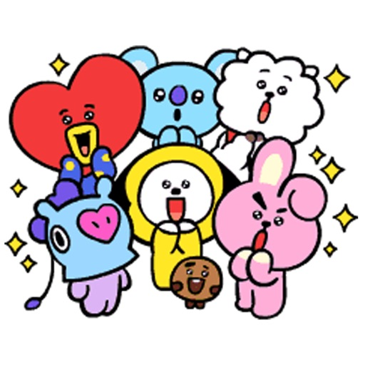 BT21 Baby Stickers icon