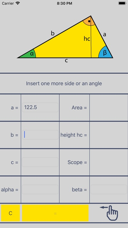 Right Triangle Solver screenshot-1