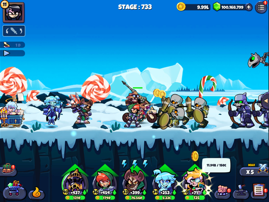 Band of Heroes IDLE RPG screenshot 17