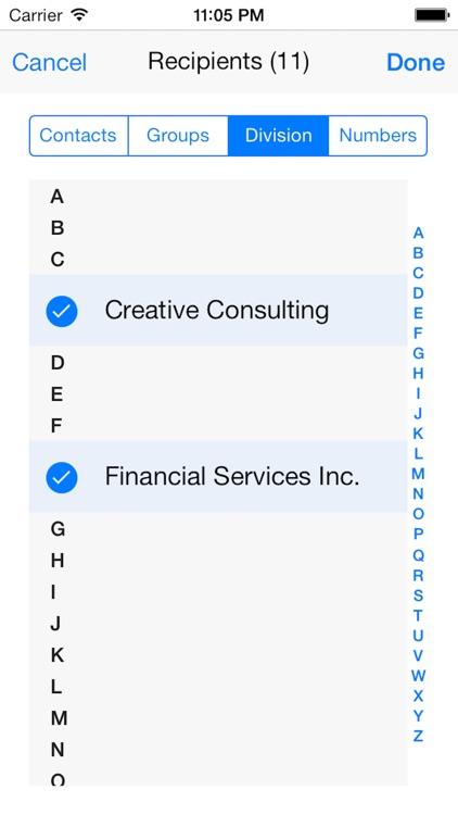 Bulk SMS Text message Pro screenshot-3