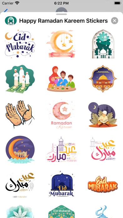Happy Ramadan Kareem Stickers screenshot 3