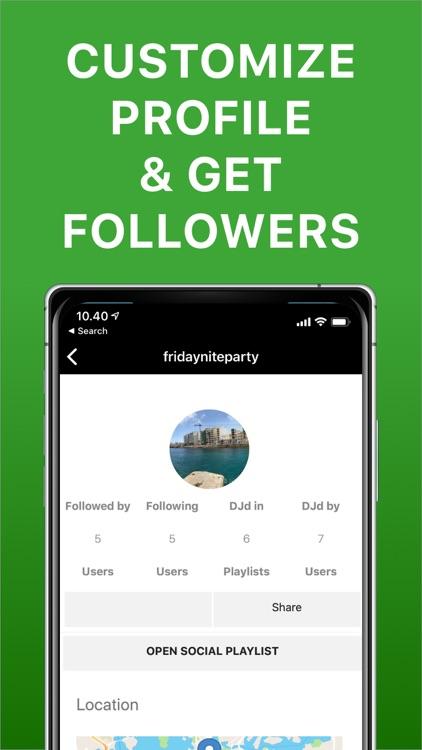 Playmysong Social Playlist App screenshot-4