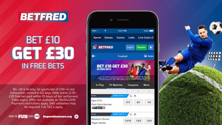 Betfred– Sports Betting & More screenshot-6