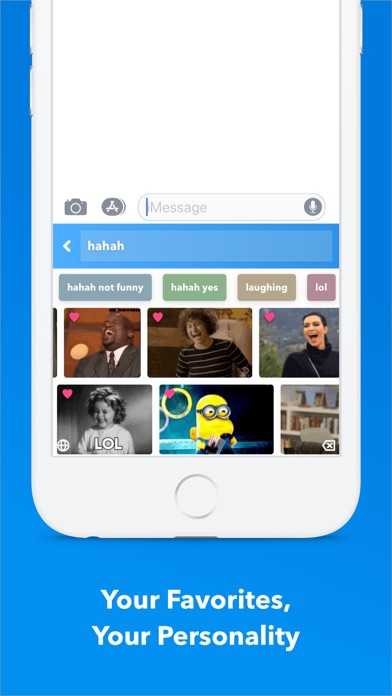 Screenshot for GIF Keyboard in Jordan App Store