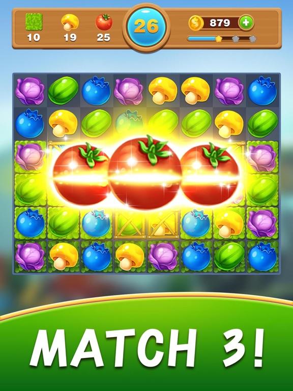 Fruit Jam - Match 3 toonのおすすめ画像3