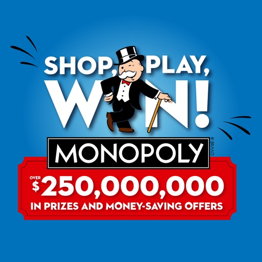 Shop, Play, Win!® MONOPOLY free software for iPhone and iPad