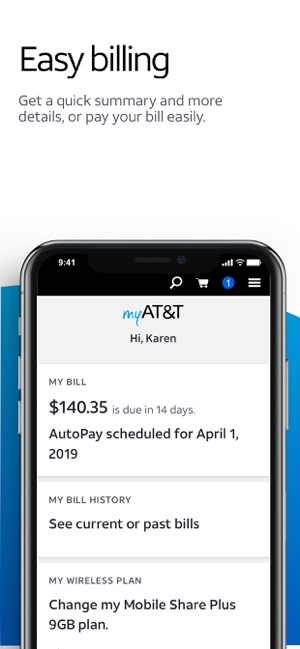 myAT&T on the App Store