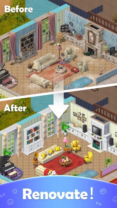 Word Villas -  Puzzle & Story screenshot 2