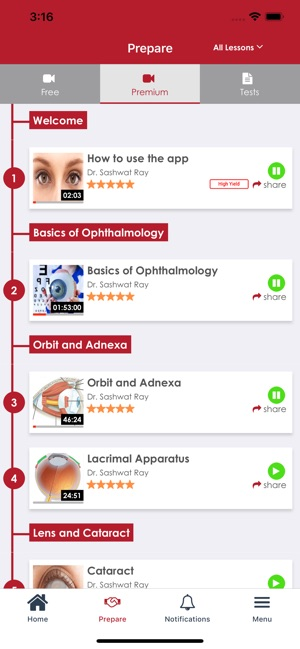Ophthalmology by Prepladder on the App Store