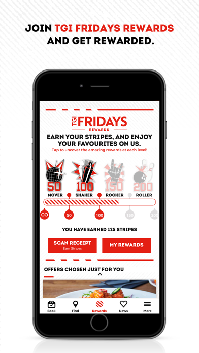 TGI Fridays UK screenshot two