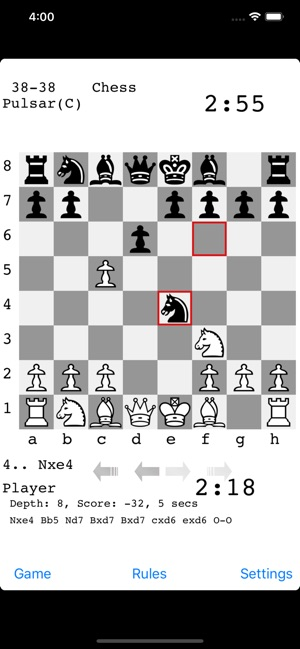 Pulsar Chess Engine on the App Store