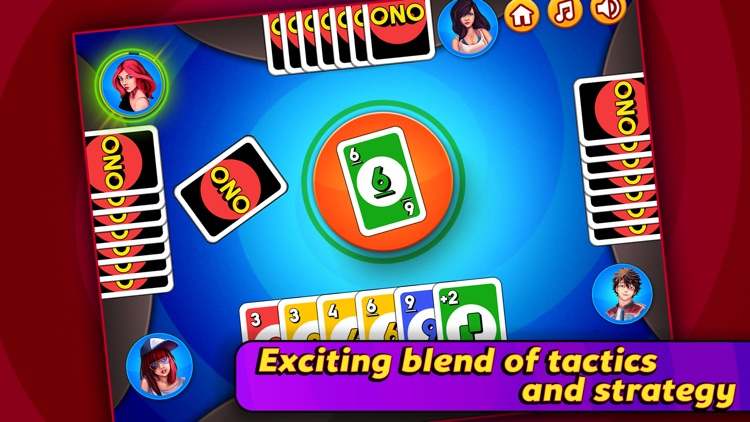 Ono - Fast Card Game Fun