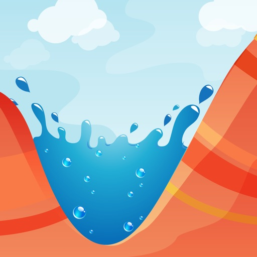 Splash Canyons free software for iPhone and iPad