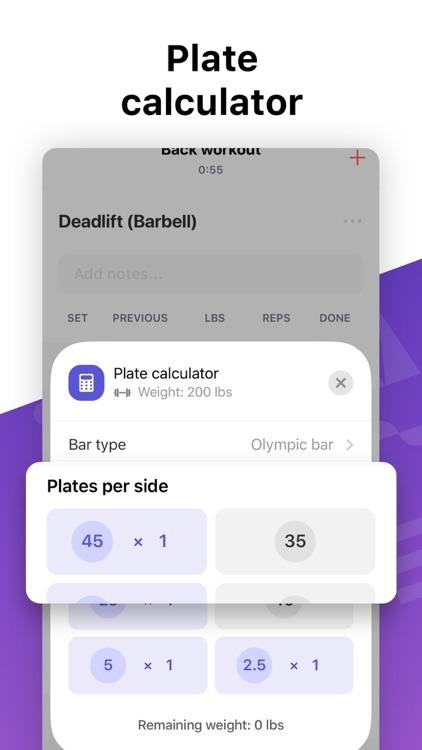 Weight Lifting Tracker by Bolt screenshot-4