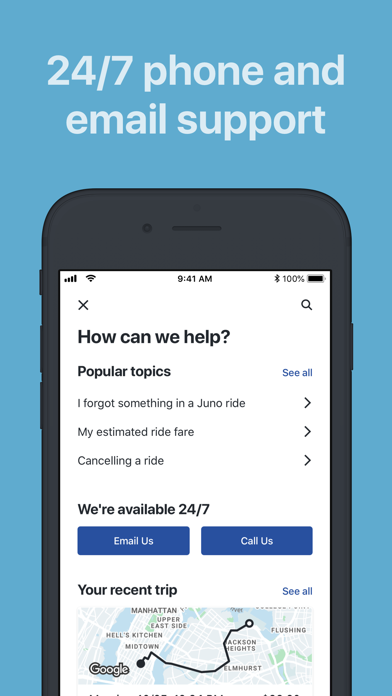 Juno - A Better Way to Ride by Juno USA (iOS, United States