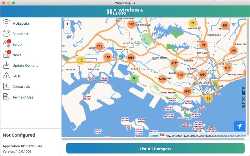 Wireless@SGx screenshot 1
