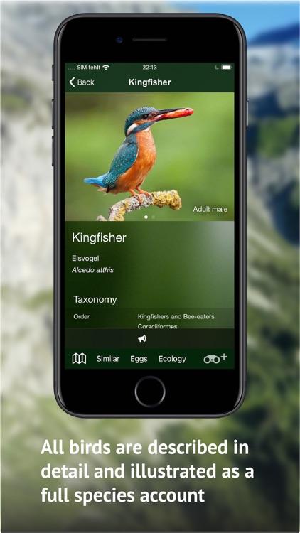 Birds of CH -Photo Guide screenshot-4