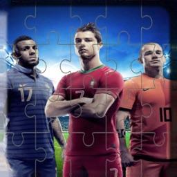Soccer hero Stars Tile Puzzle