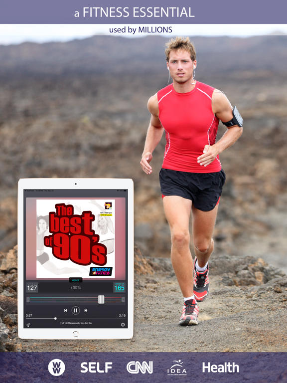 Tempo Magic - Change Pace of your Music for Group X, Running, Cycling, and Fitness screenshot