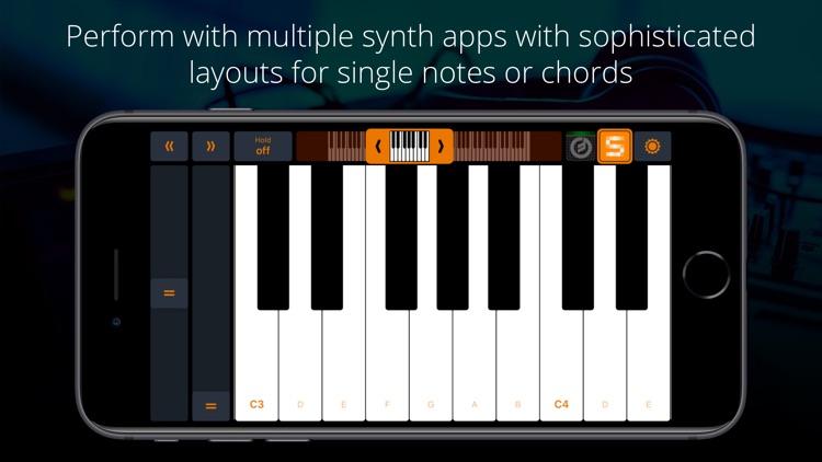 Midiflow Keyboard (Audiobus)