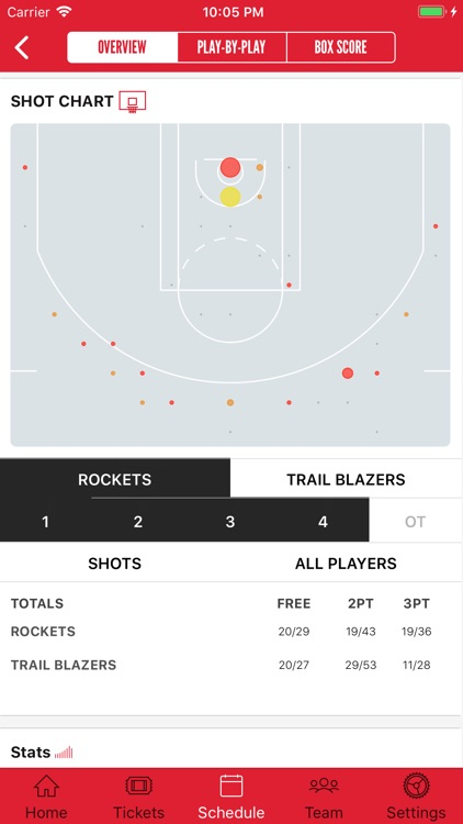 Houston Rockets screenshot-3