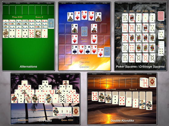 Ipad Screen Shot Solitaire City 3
