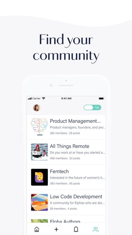 Elpha – professional network screenshot-3