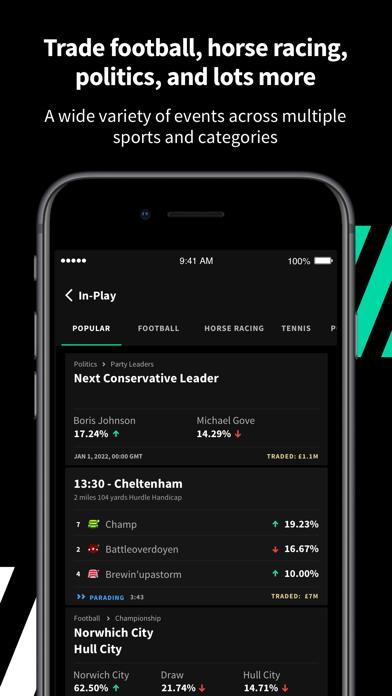Smarkets Betting Exchange screenshot two