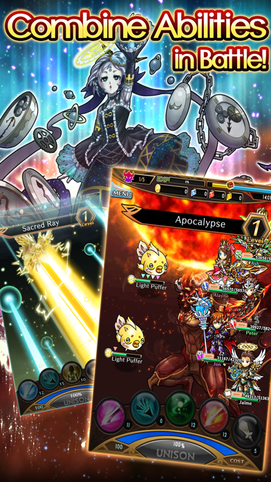 Unison League screenshot three