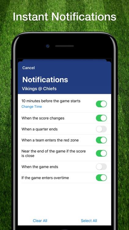 Scores App: Pro Football 2019 screenshot-3
