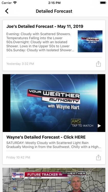 Tristate Weather - WEHT WTVW screenshot-3
