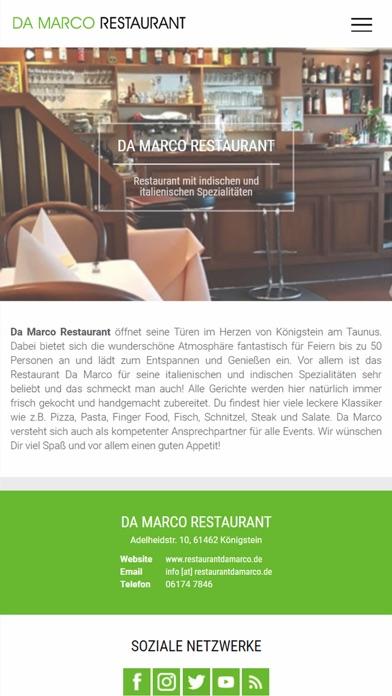Pizzeria Da Marco (Königstein)Screenshot von 1