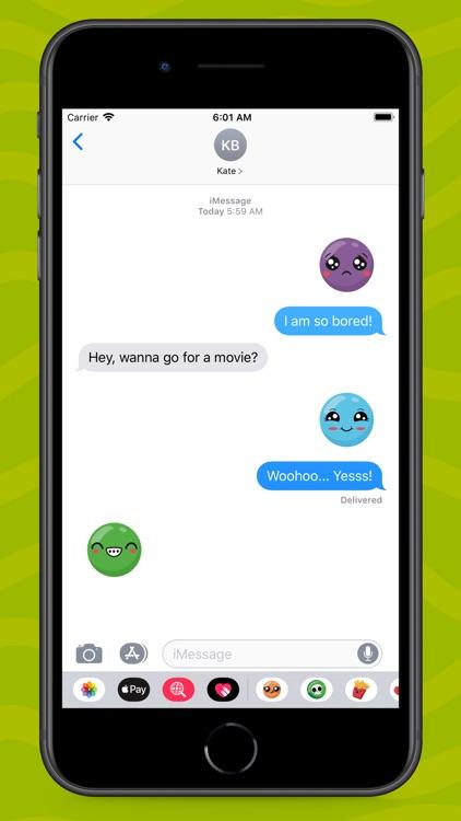 Cute Kawaii Cartoon Emojis screenshot-5