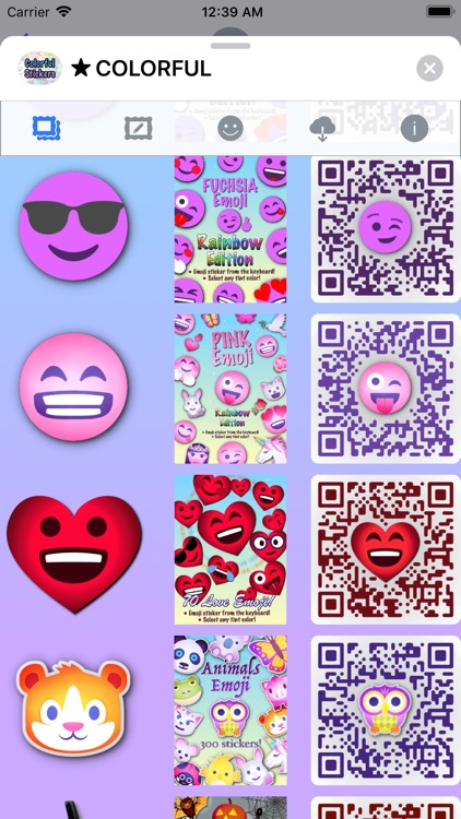 Colorful Stickers and Emoji screenshot-7
